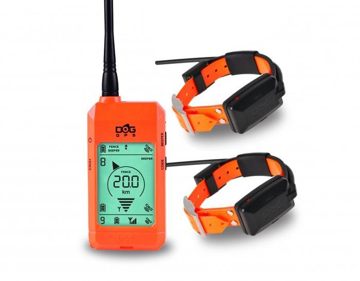 Kynologické potřeby - DOG GPS X22 orange - sada pro 2 psy