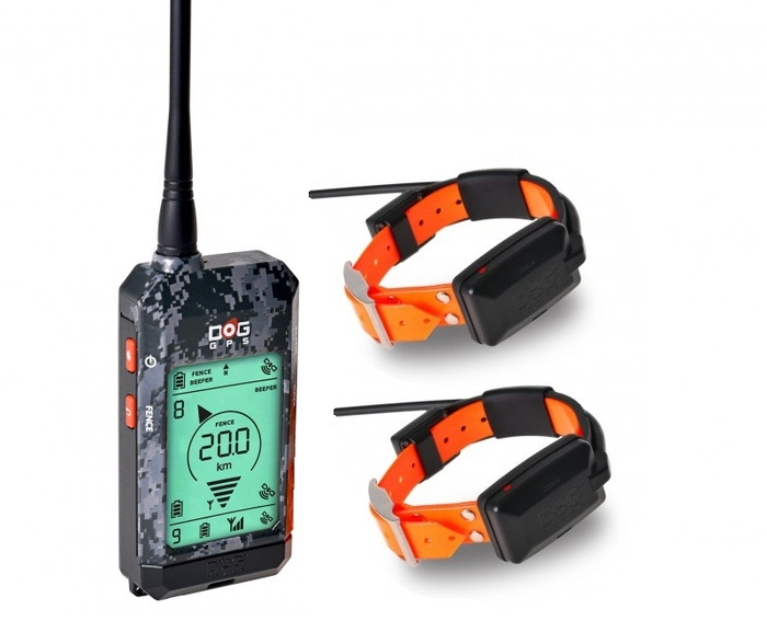 Kynologické potřeby - DOG GPS X22 - sada pro 2 psy