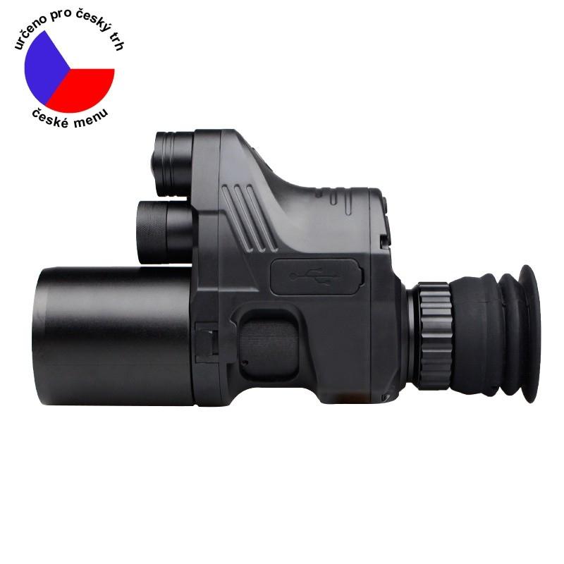 Noční vidění - Zasádka PARD NV007A HD 12mm model 2020 + adaptér, nabíječka, SD karta a doprava Zdarma
