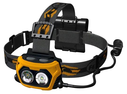 Svítilny - LED čelovka Fenix HP25 - stříbrná