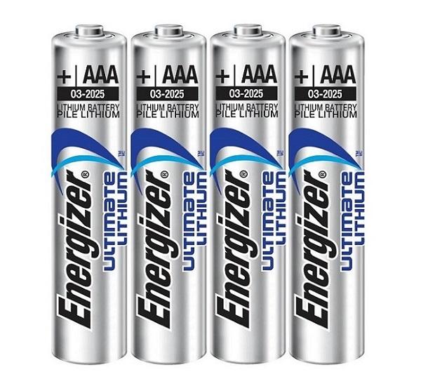 Baterie a nabíječky - Energizer Ultimate Lithium 1,5V AAA