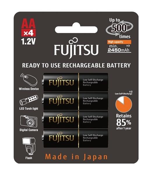 Baterie a nabíječky - Baterie Fujitsu 1,2V AA 2500mAh