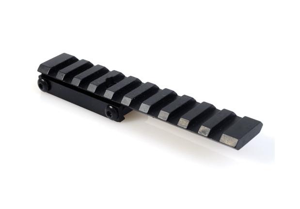 Montáže - Jednodílná ocelová montáž weaver ZH