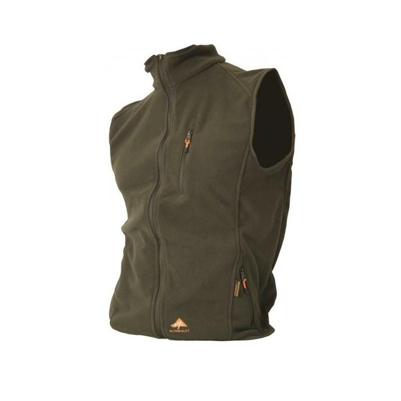 Lovecké potřeby - AlpenHeat Fleece vyhřívaná vesta - zelená