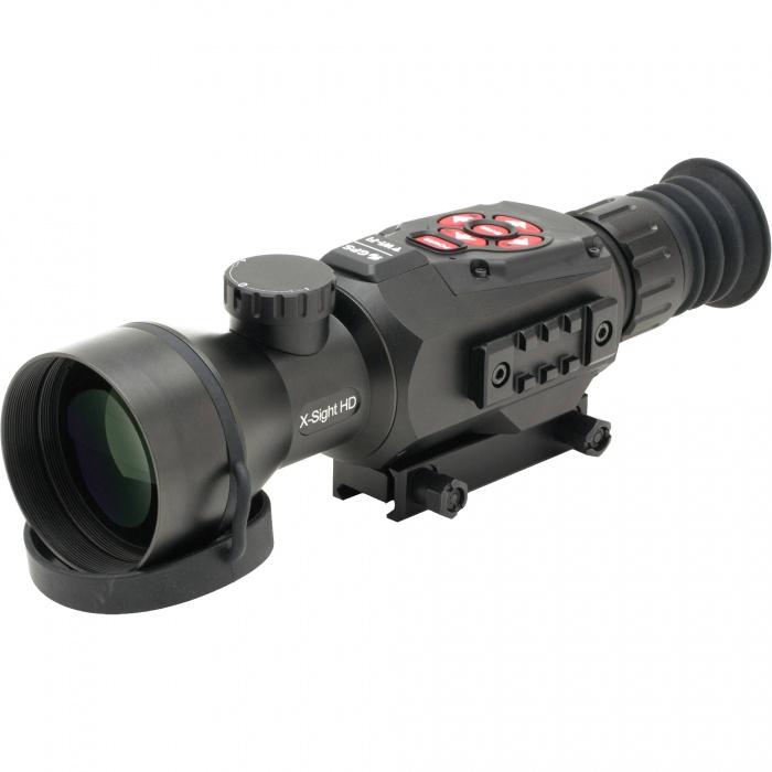 Noční vidění - Digitální puškohled ATN X-SIGHT II HD 5-20x + IR přísvit