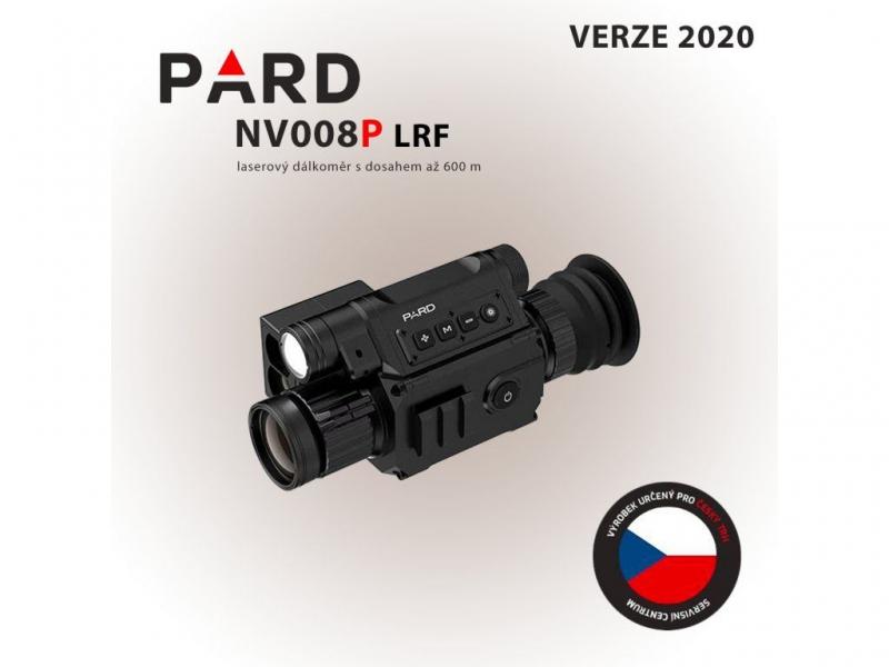 Noční vidění - Digitální zaměřovač PARD LRF NV008P novinka 2020 s dálkoměrem