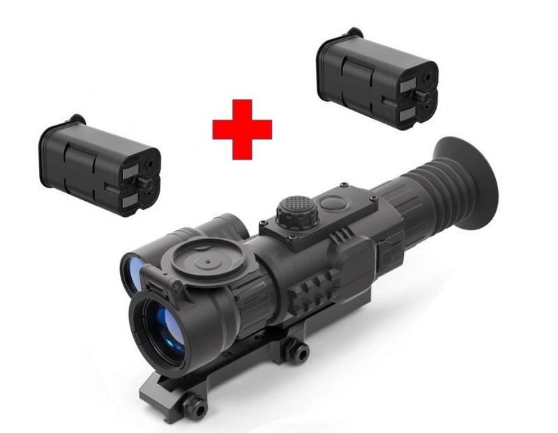 Noční vidění - Yukon Sightline N455S - montáž weaver a baterie Zdarma