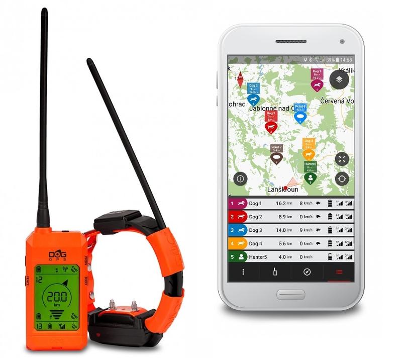 Kynologické potřeby - DOG GPS X30T - s výcvikovým modulem