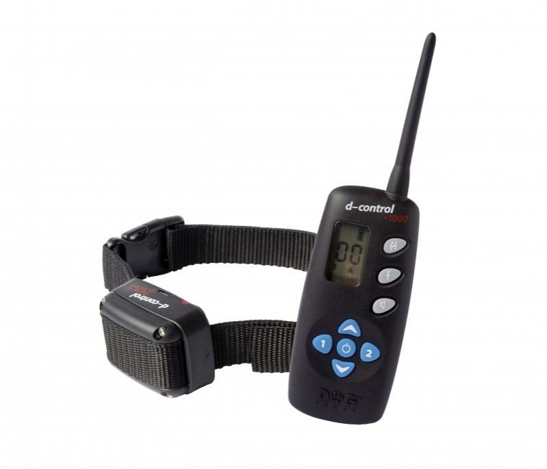 Kynologické potřeby - Elektronický výcvikový obojek d-control 1000