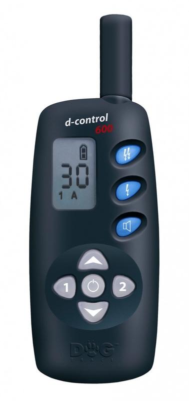 Kynologické potřeby - Elektronický výcvikový obojek d-control 600