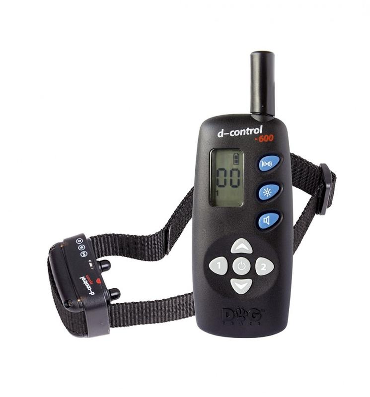Kynologické potřeby - Elektronický výcvikový obojek d-control 640