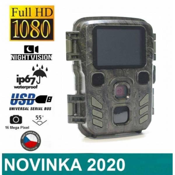 Lovecké potřeby - Fotopast BUNATY mini FULL HD + polohovací kloub + 8GB karta + baterie zdarma