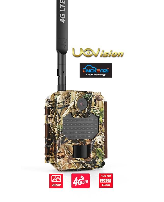 Fotopasti - Fotopast UOV Compact LTE + ZDARMA SD karta 32 GB a sada baterií