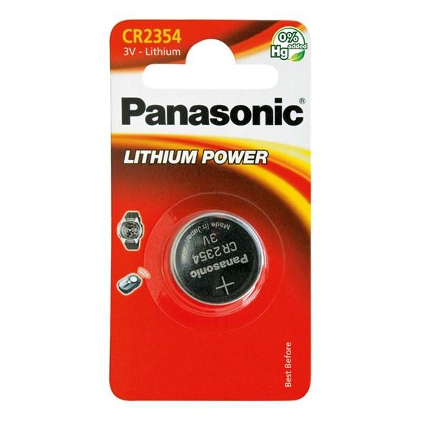 Baterie a nabíječky - Knoflíková lithiová baterie Panasonic CR2354