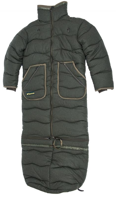Lovecké oblečení - Posedový vak i bunda Carinthia 2v1