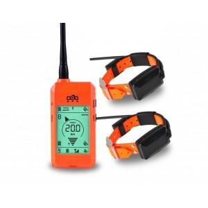 DOG GPS X22 orange - sada pro 2 psy foto