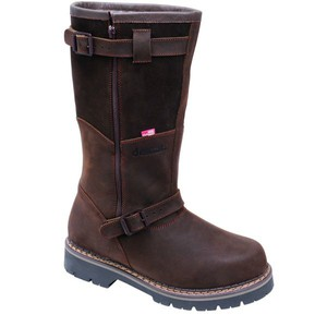 Myslivecká zimní obuv TIROL DELUXE hnědá ca2a25b83a